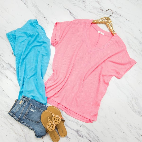 Highlighter Bright Top *ALL SALES FINAL*
