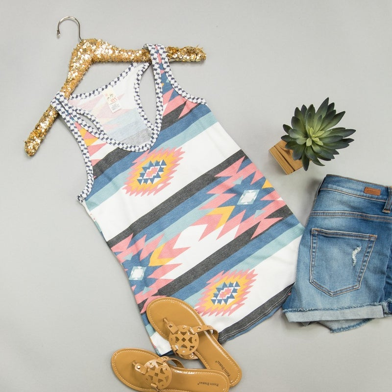 Aztec Summer Tank *all sales final*