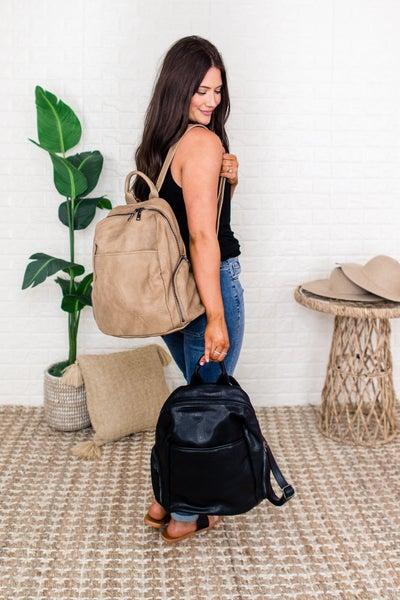 Jen & Co Front Slip Backpack