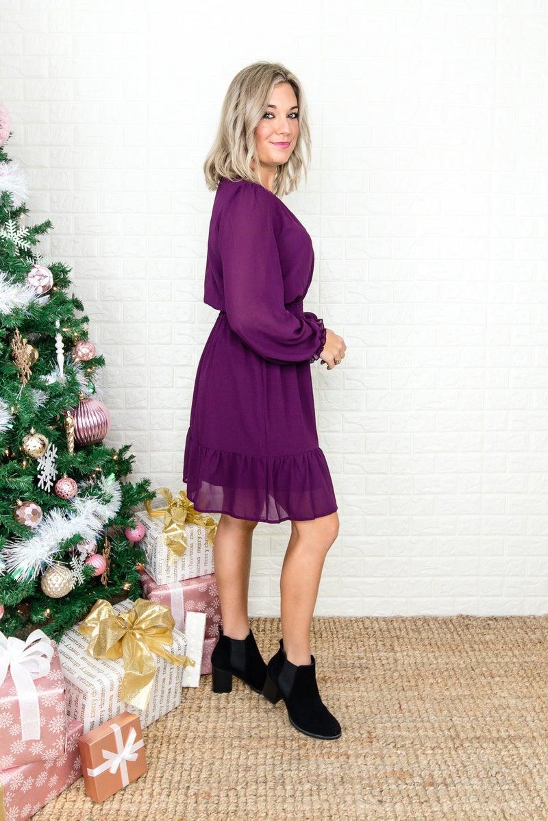 Perfectly Plum Dress