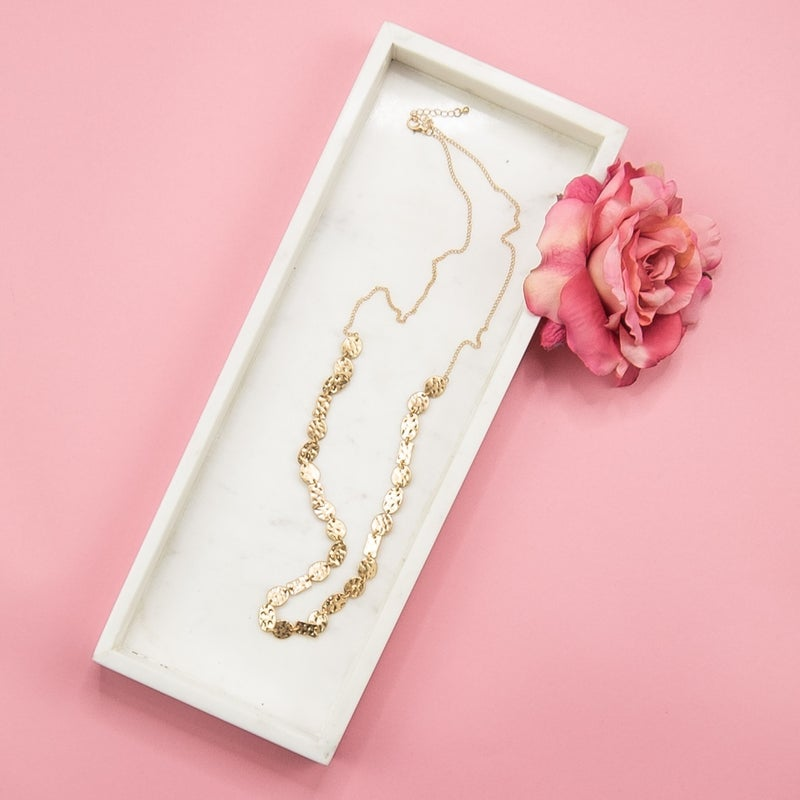 Matte Gold Necklace