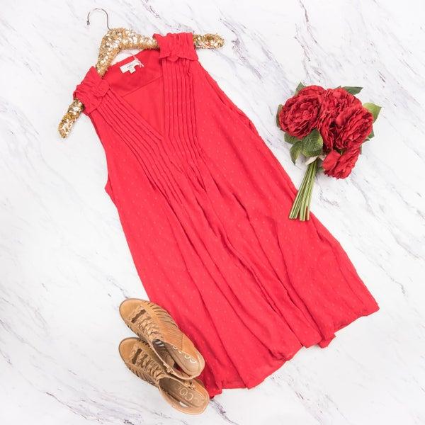 Scarlet Red Dress