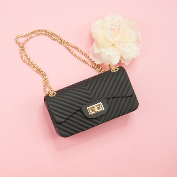Fashionista Black Purse