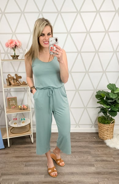 HAPPY HOUR// Cozy Casual Jumpsuit