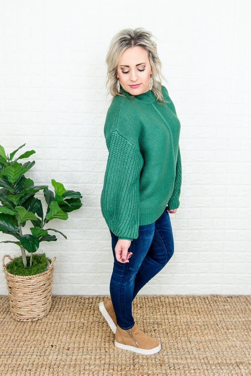 Darling Mock Sweater