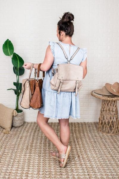 Jen & Co Convertible Backpack