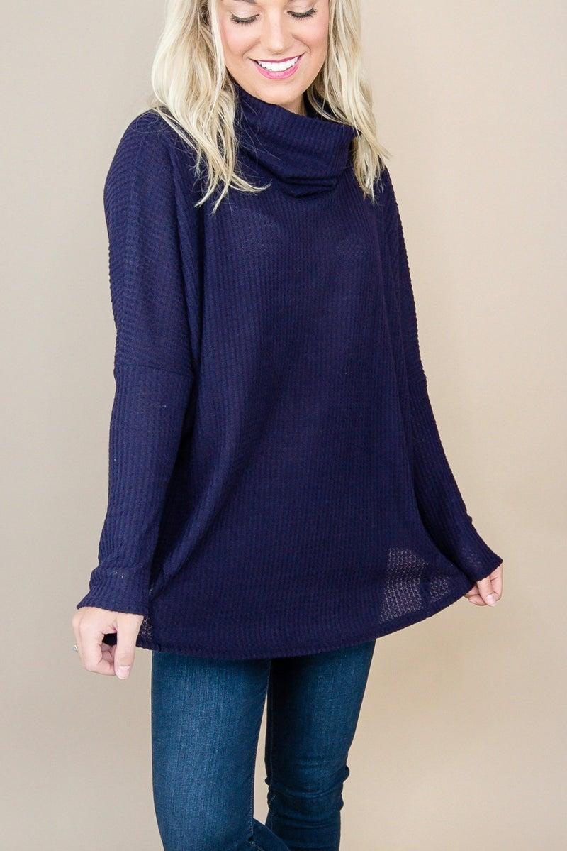 Dark Kiss Cowl Sweater