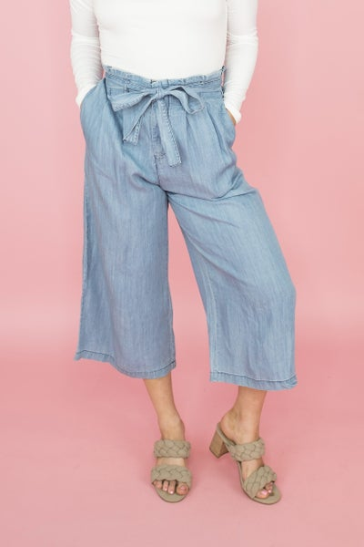Cutest Denim Gauchos