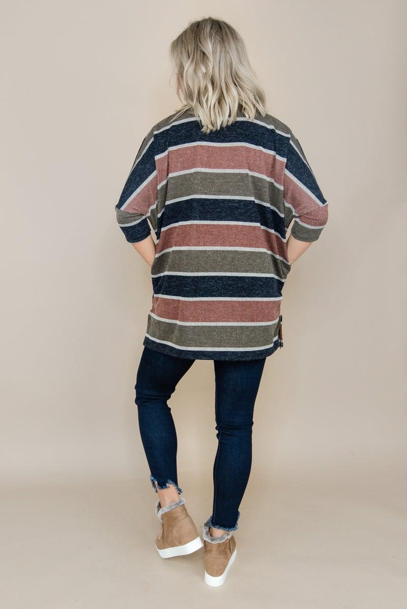 Stripe Drop Tunic