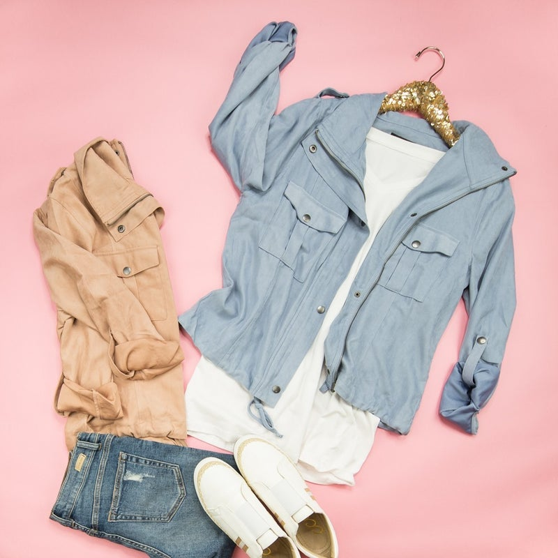 Staccato Cropped Button Jacket *all sales final*