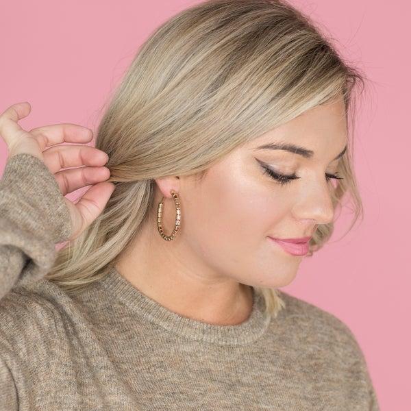 Simple and Easy Hoop Earring