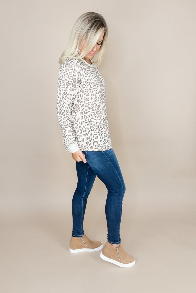 Casual Leopard Top