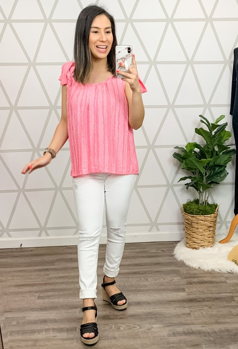 Pink Lady Blouse *all sales final*