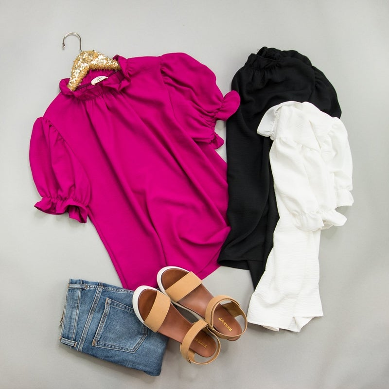 Doll Me Up Blouse *all sales final*