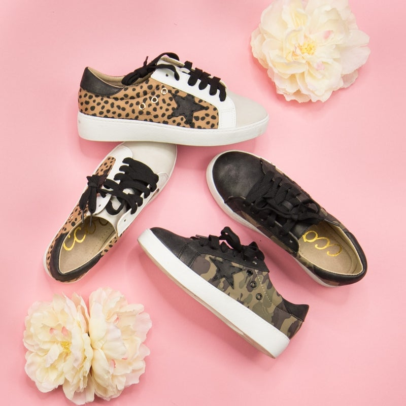 Star Accent Sneakers *all sales final*