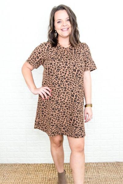 Dark Leopard Dress
