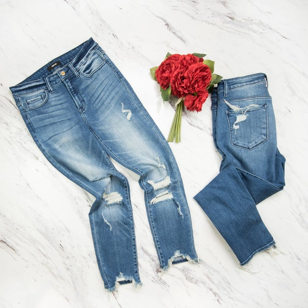 Vervet Distressed Denim