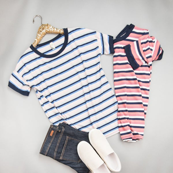 Bold Stripes Top