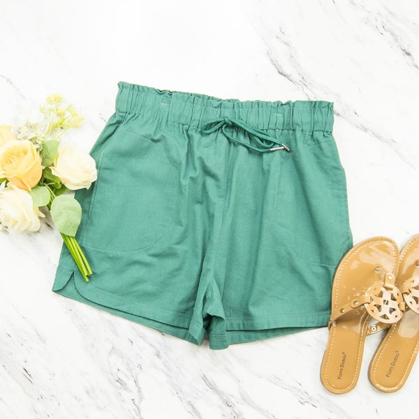 Simple Jade Shorts