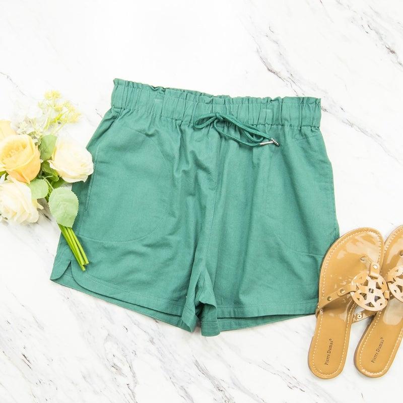 Simple Jade Shorts