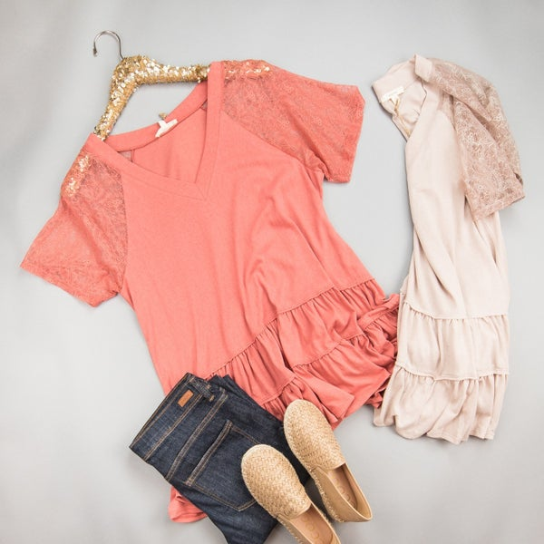 Summer Lace Top *all sales final*