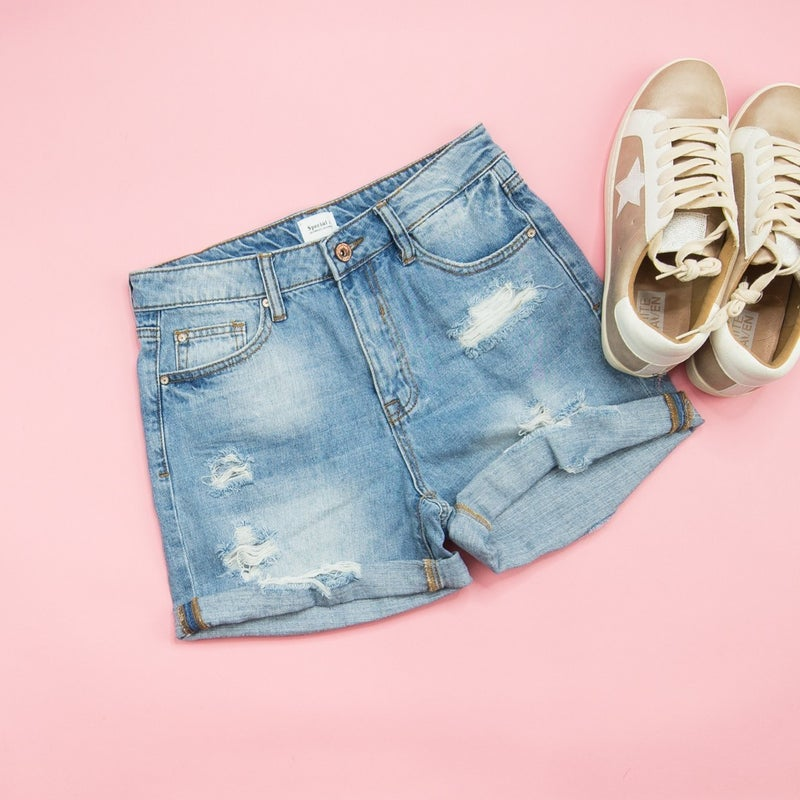 Special A True Denim Shorts *all sales final*