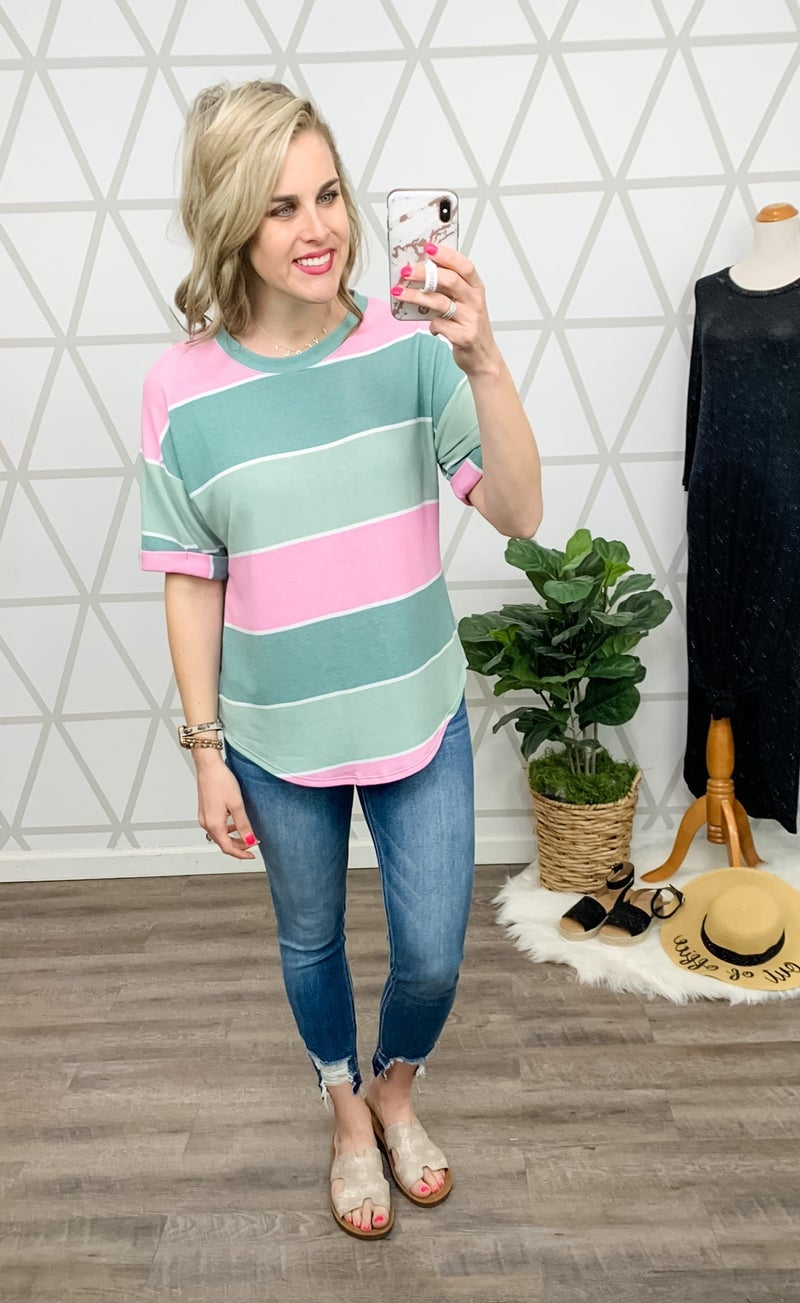Sage Orchid Top