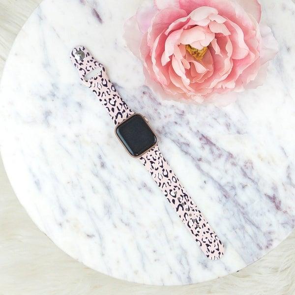 Blush Leopard Apple Watch Band