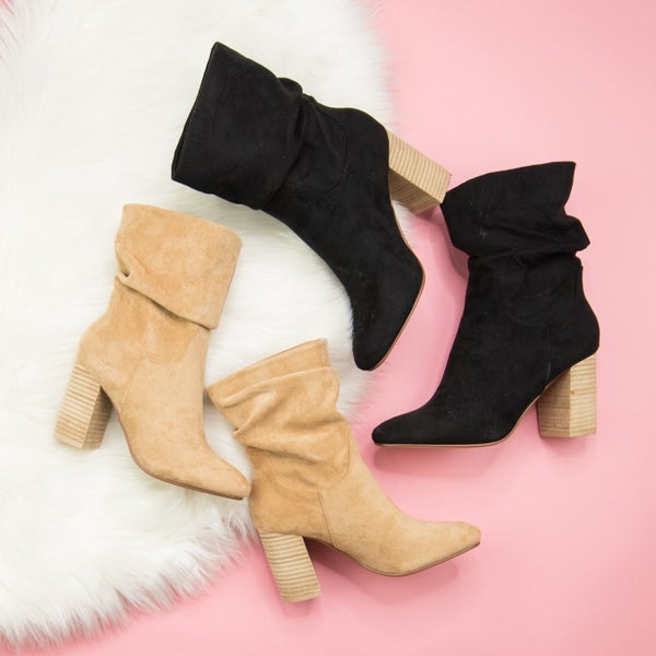 Chic Heeled Bootie