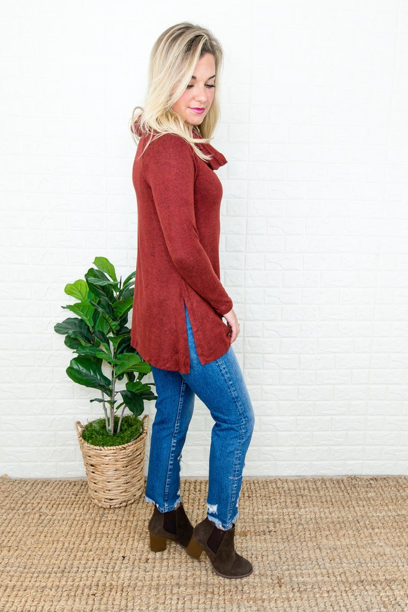 Dreamy Rust Top