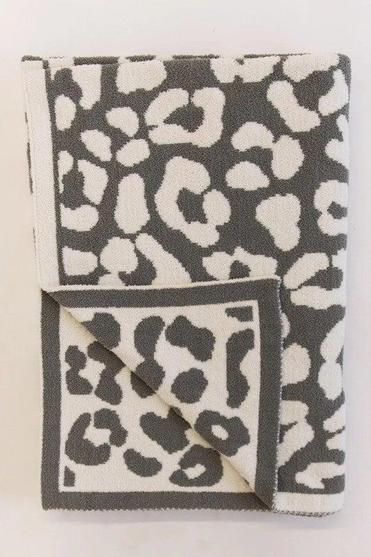 Buttersoft Leopard Blanket