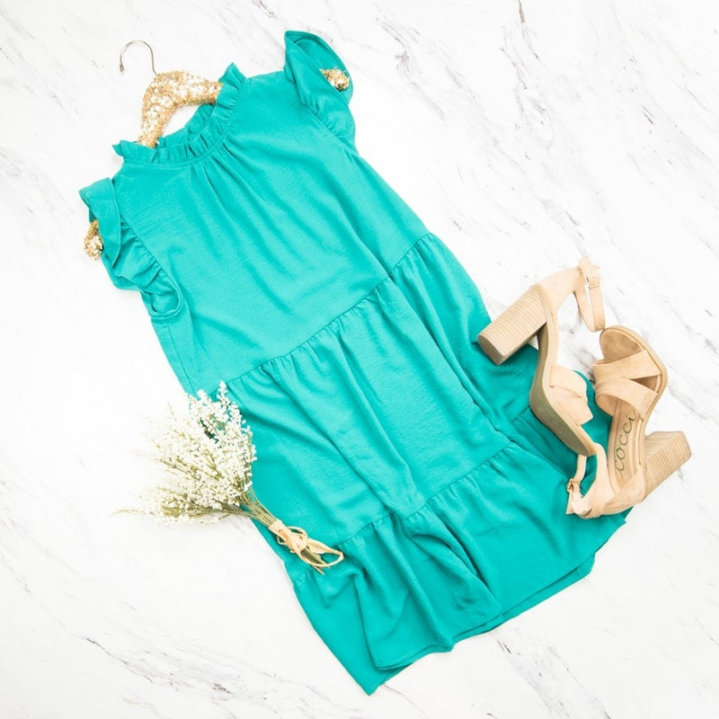 Jade Tier Dress