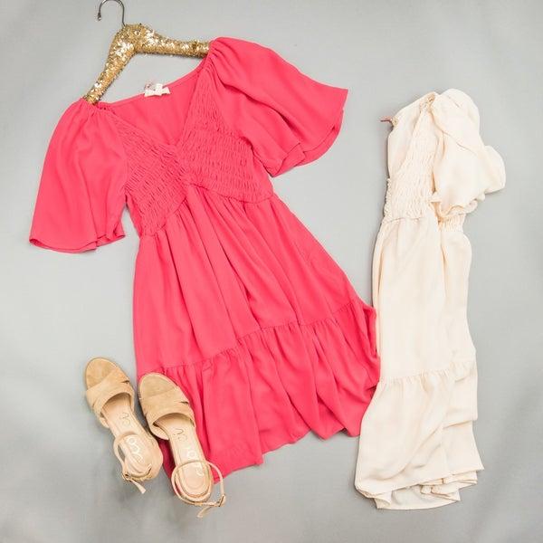 Southern Comfort Flattering Dress