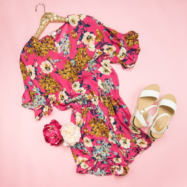 Brighten Up Romper