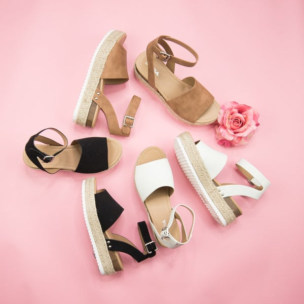 Topics Platform Sandal *all sales final*