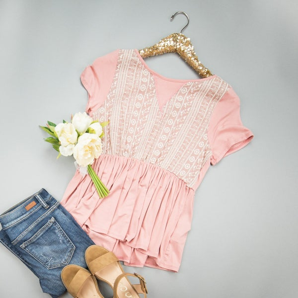 Yours Truly Blouse *all sales final*