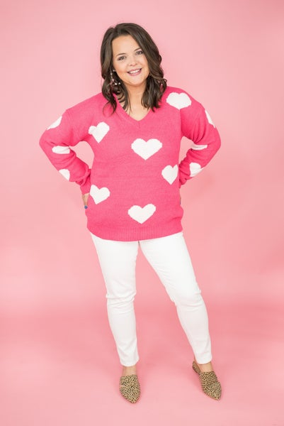 Always My Forever Heart Sweater *all sales final*