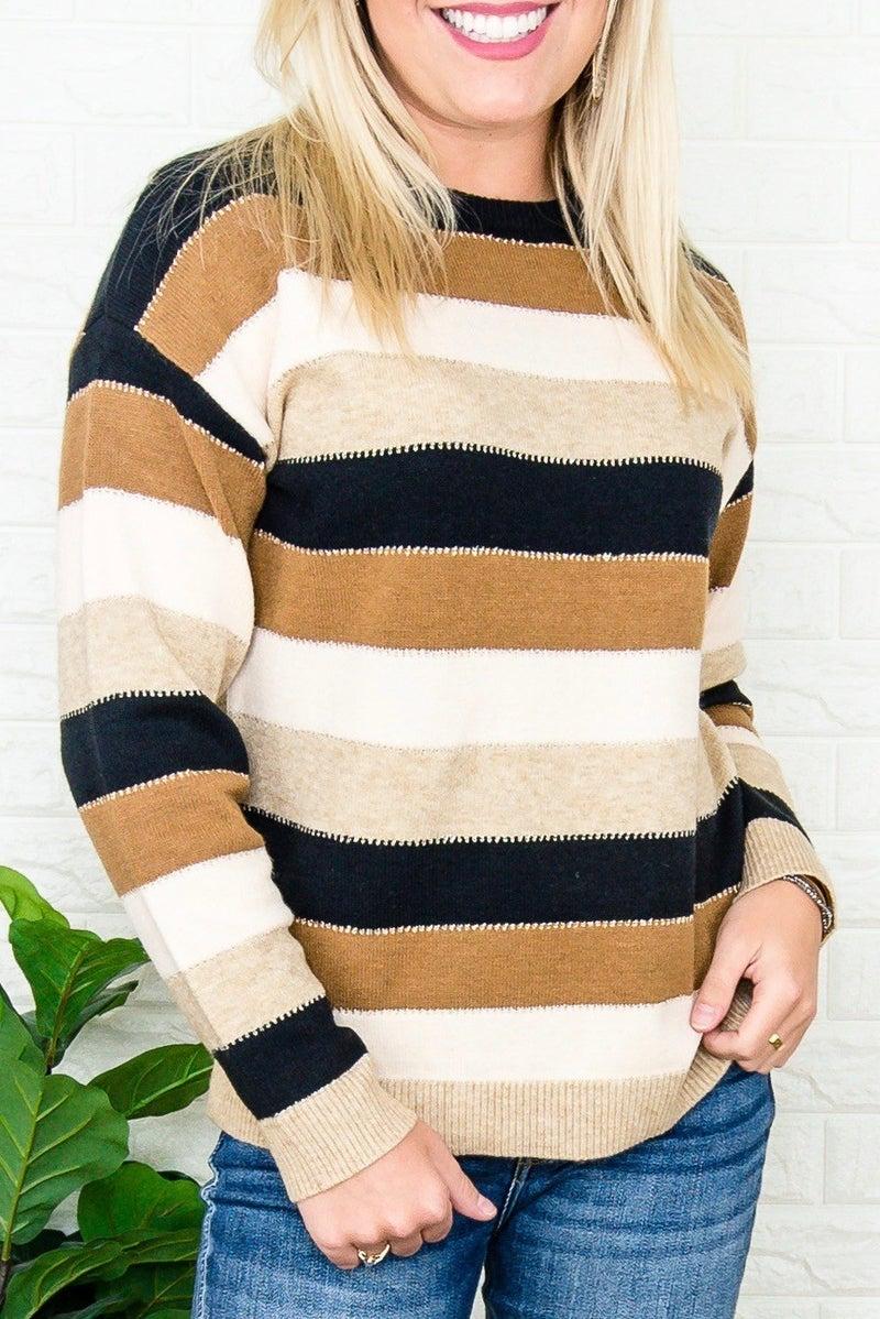 Mocha Blend Lightweight Sweater