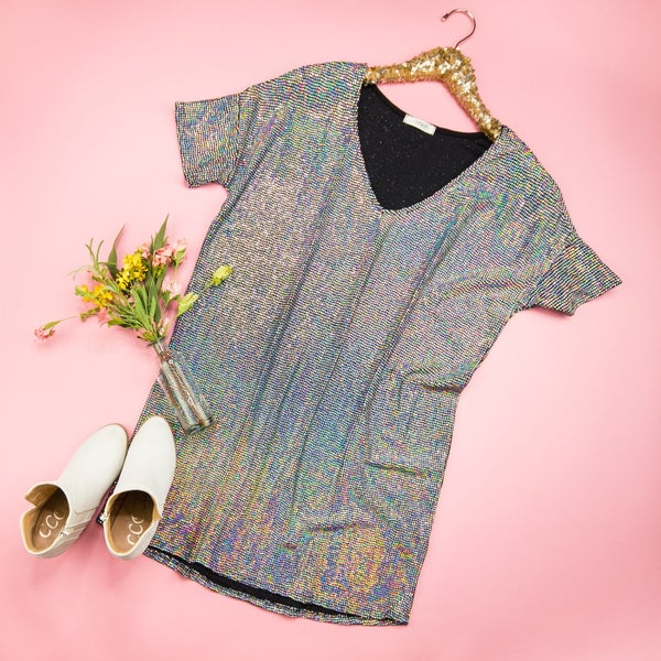 Sassy Sequin Dress *ALL SALES FINAL*