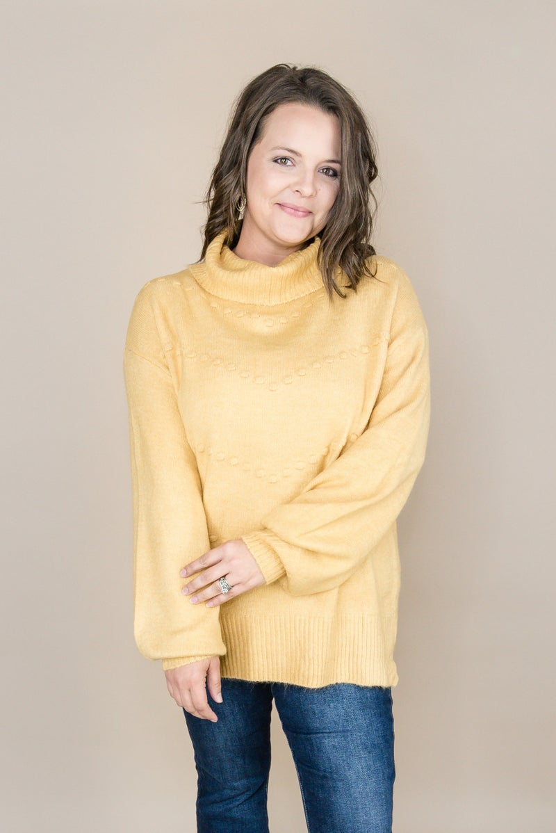 Staccato Dot Sweater