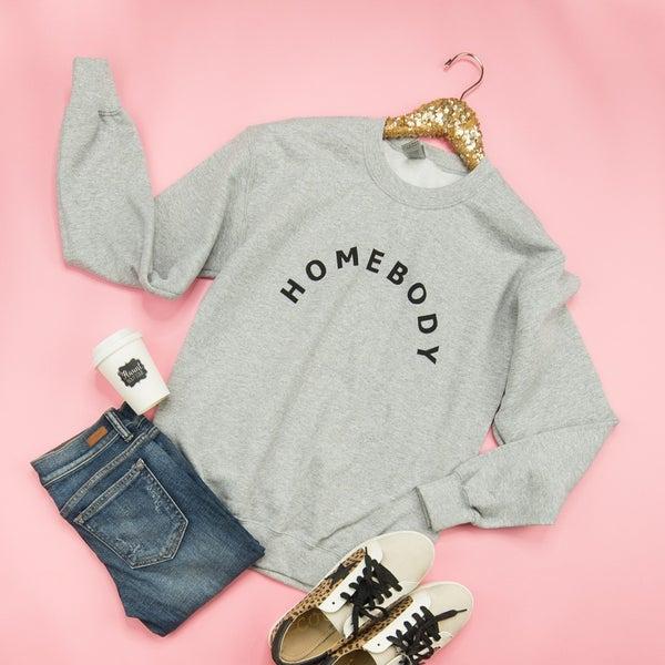 Gray Homebody Sweatshirt