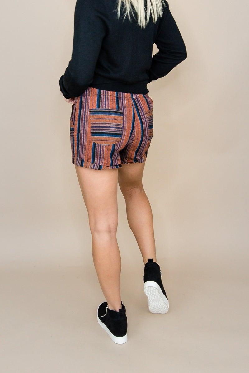 Dark Shade Fall Shorts