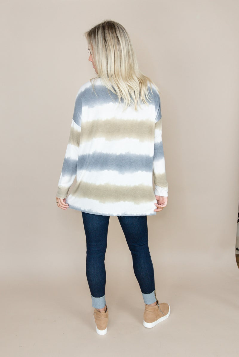 Ombre Dip Dyed Top