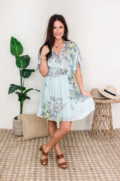 Feeling Gorgeous Floral Dress