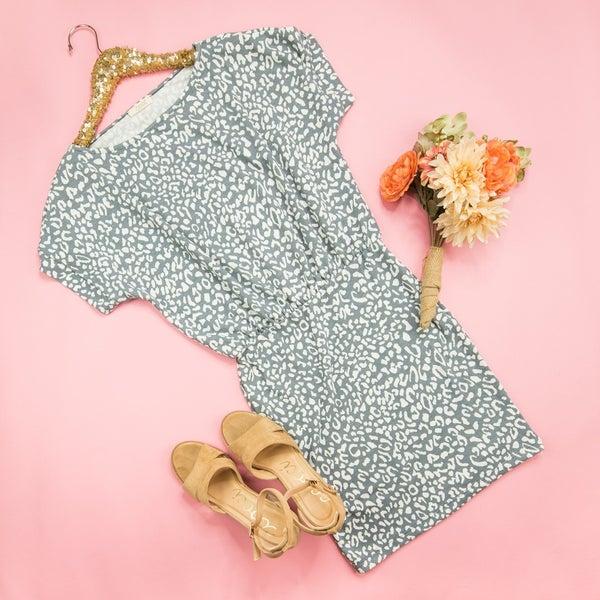 Slimming Leopard Dress