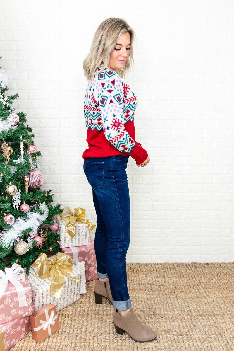 Savanna Jane Trendy Holiday Sweater