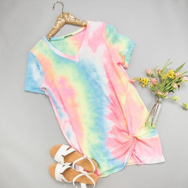 Knot Dye Dress