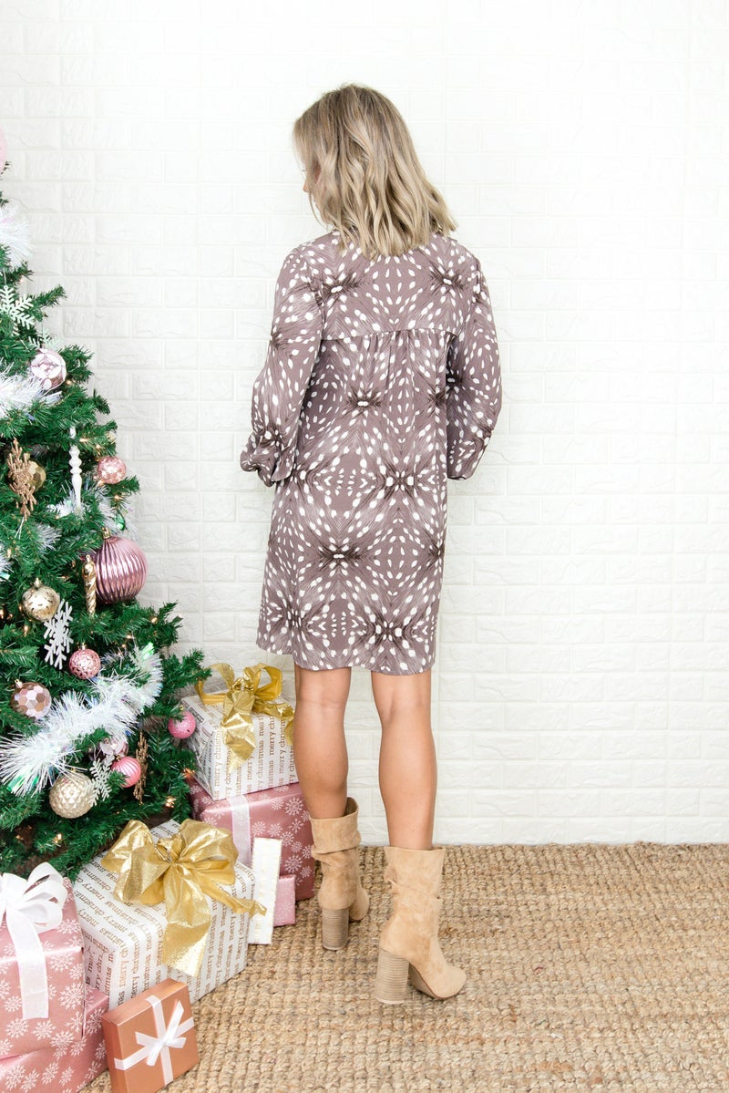 Mauve Star Dust Dress
