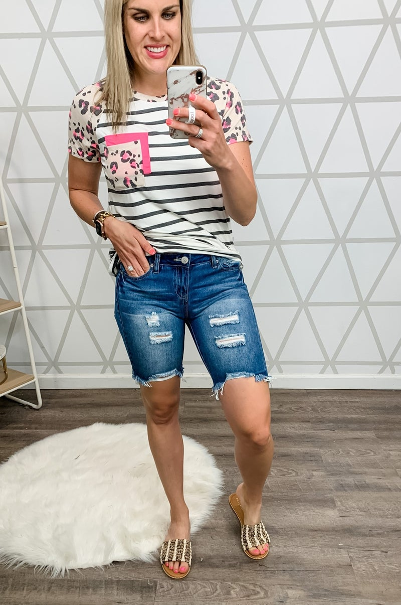 YMI Distressed Shorts *all sales final*