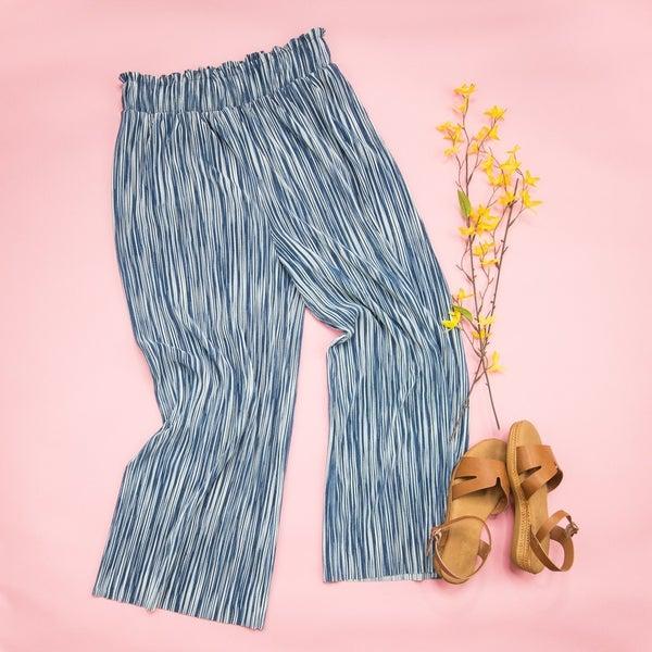 Slinky Navy Pants *all sales final*